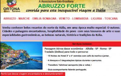 Viagem para Abruzzo 2019